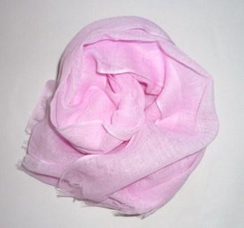 襟巻~淡いピンク