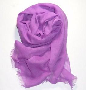 ガーゼストール~赤紫